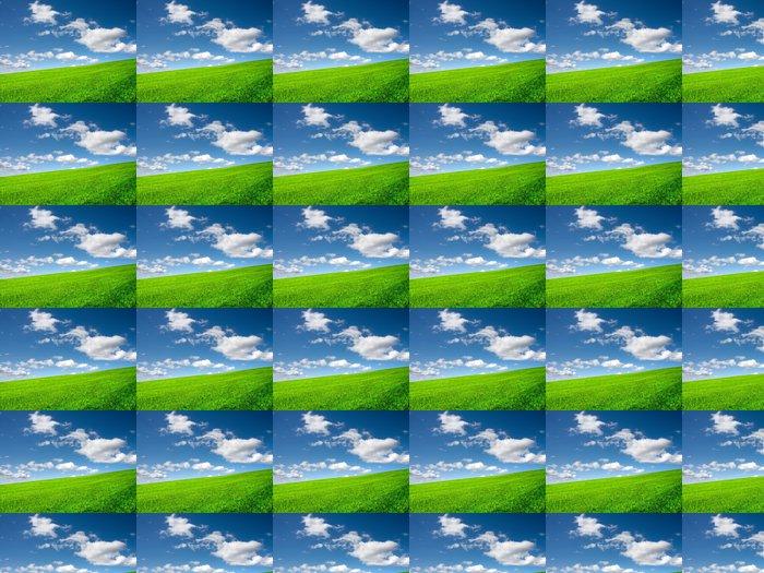 Vinylová Tapeta Green field - Venkov