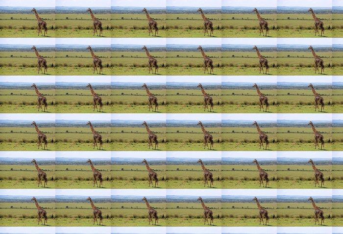 Papier Peint à Motifs Vinyle Sauvage girafe - Afrique