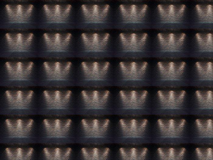 Vinylová Tapeta Staré cihlové zdi osvětlen reflektory - Styly