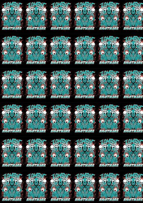 Vinylová Tapeta Zombie noční můra - Témata