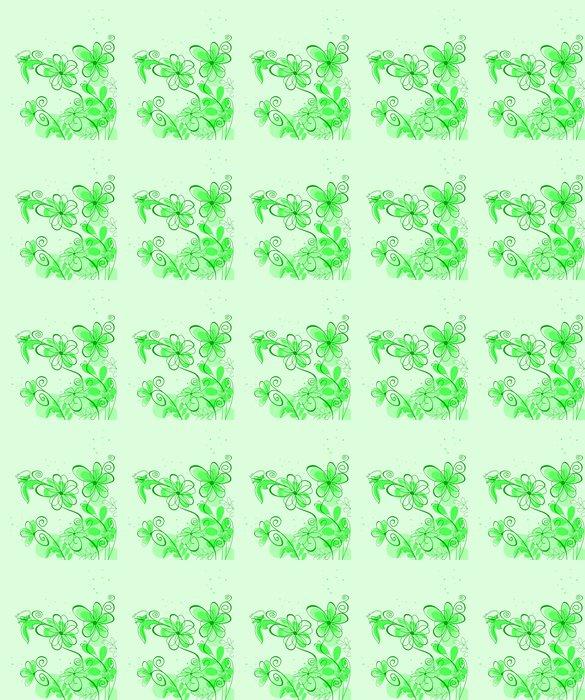 Vinylová Tapeta Abstraktní jarní květiny na pozadí - Květiny