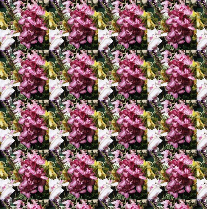 Vinylová Tapeta Pink Orchid - Město