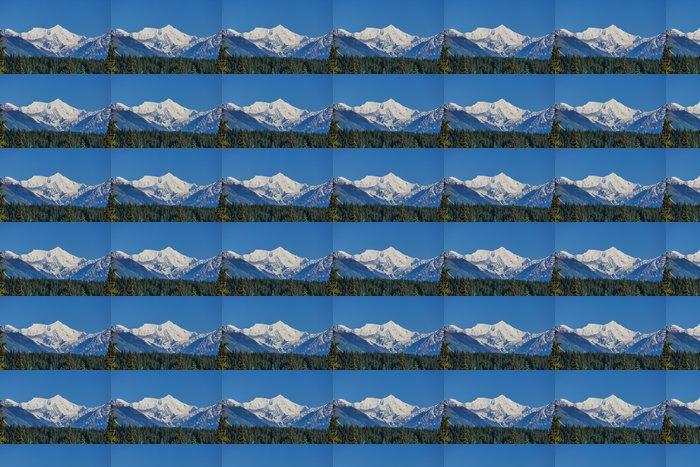 Vinylová Tapeta Hory na Aljašce - Hory