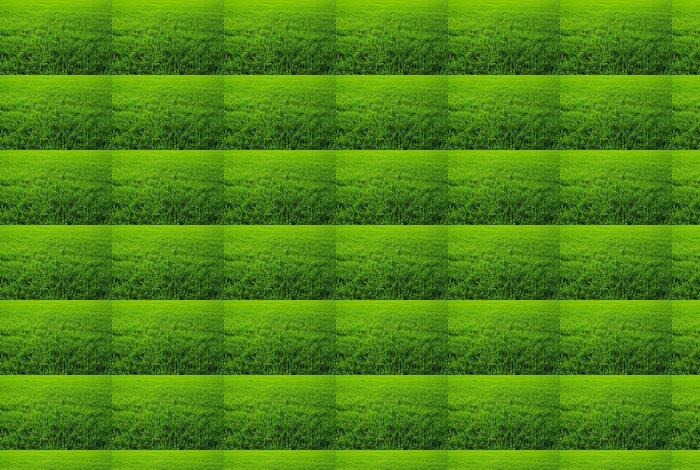 Vinylová Tapeta Textura zelený trávník - Rostliny