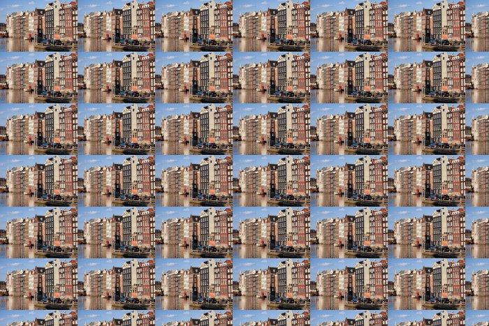 Vinylová Tapeta City of Amsterdam při západu slunce - Město