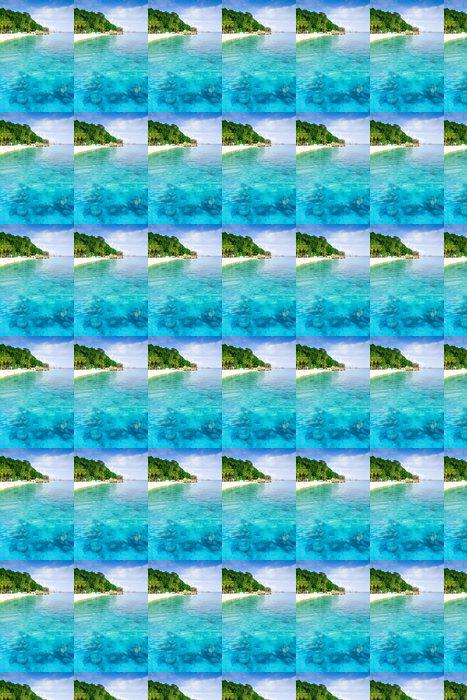 Vinylová Tapeta Krásná Corail útes a pláž ostrova Perhantian - Asie