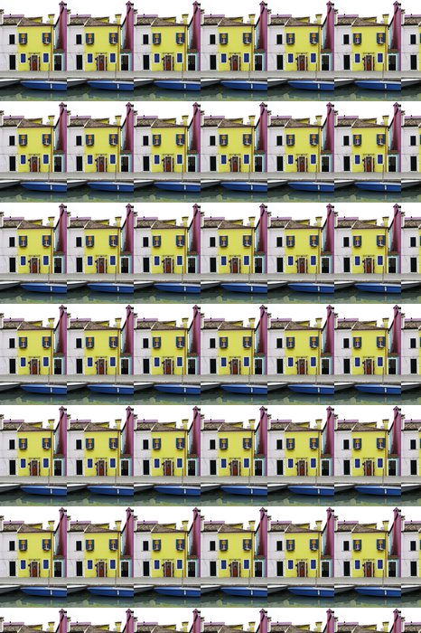 Vinylová Tapeta Různobarevné domy v Benátkách - Evropská města