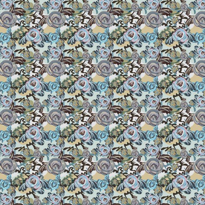 Vinylová Tapeta Modré pozadí - Pozadí