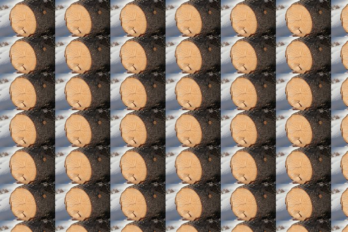 Vinylová Tapeta Kmen stromu - Struktury