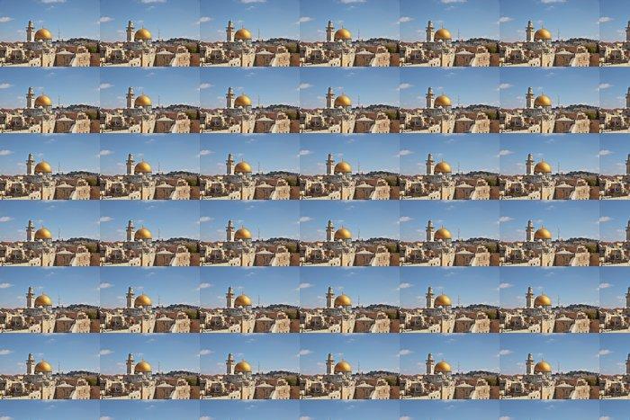 Vinylová Tapeta Zlatý Skalní dóm - Střední Východ