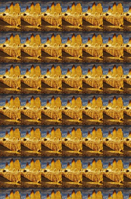 Vinylová Tapeta Torres del Paine při východu slunce - Amerika