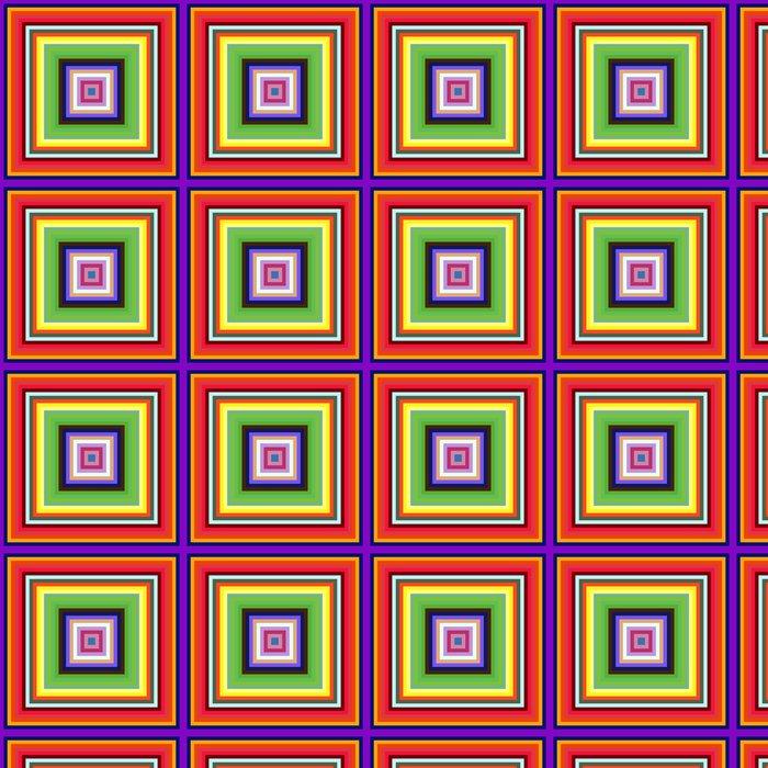 Vinylová Tapeta Snížení velikosti pestré čtverečních framy abstraktní pozadí. - Abstraktní