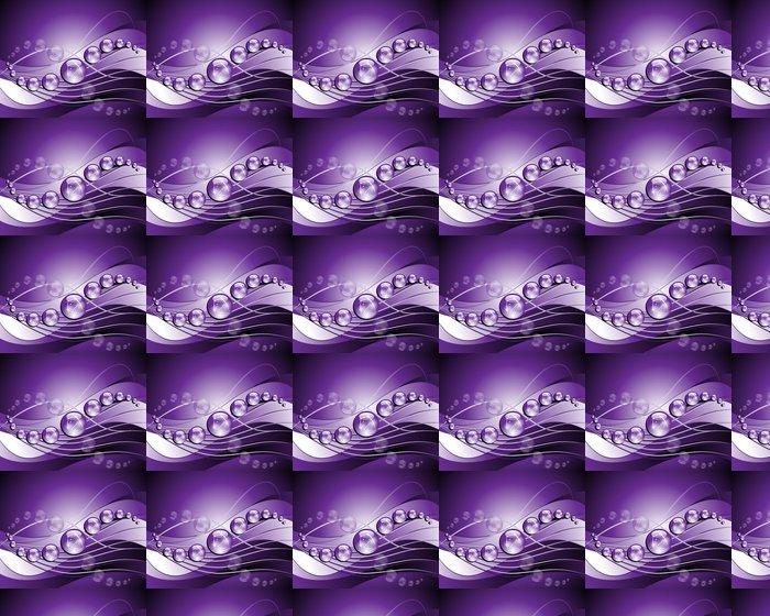 Vinylová Tapeta Purple Vektorové ilustrace pozadí - Značky a symboly