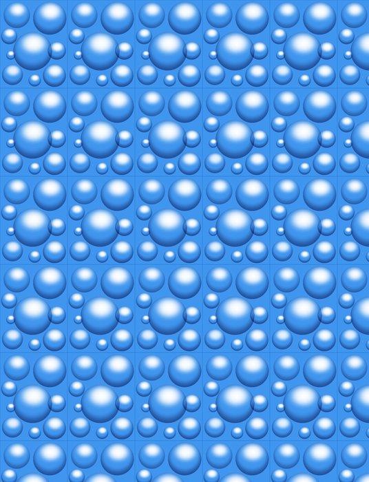 Vinylová Tapeta Bolle d'Acqua-Water Bubbles-Bulles d'eau - Struktury