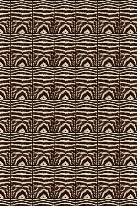 Vinylová Tapeta Zebra kůže - Savci