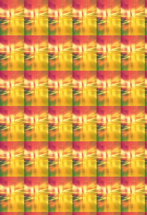 Vinylová Tapeta Duhový vír - Abstraktní