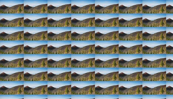 Vinylová Tapeta Sopky trasa na ostrově La Palma - Prázdniny