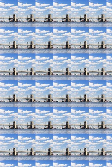 Vinylová Tapeta Brooklyn Bridge a Manhattan Bridge, New York City, USA - Americká města