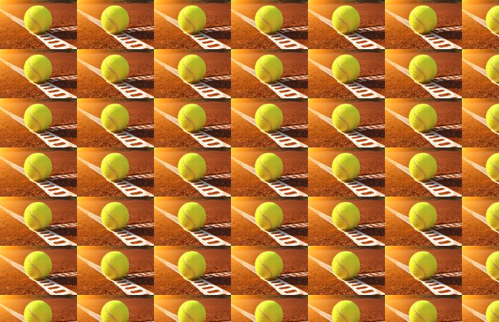 Vinylová Tapeta Tenisový míček - Tenis
