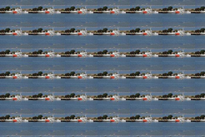 Vinylová Tapeta Pobřežní stráže - Lodě