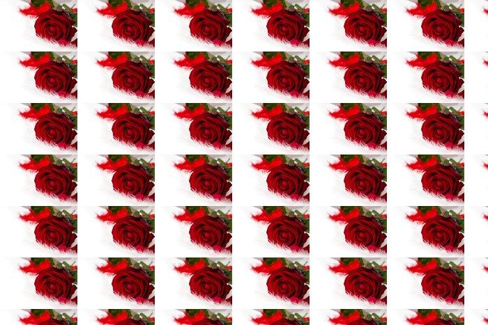Vinylová Tapeta Růže květ - Mezinárodní svátky
