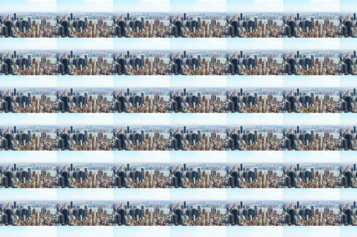Vinylová Tapeta Panoráma města pohled na Manhattan z Empire State Building - Americká města