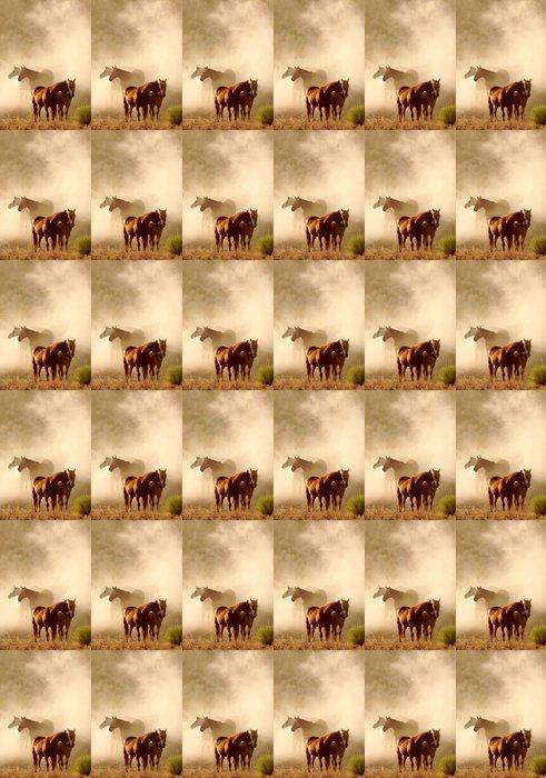 Vinylová Tapeta Odpočinek koně - Savci