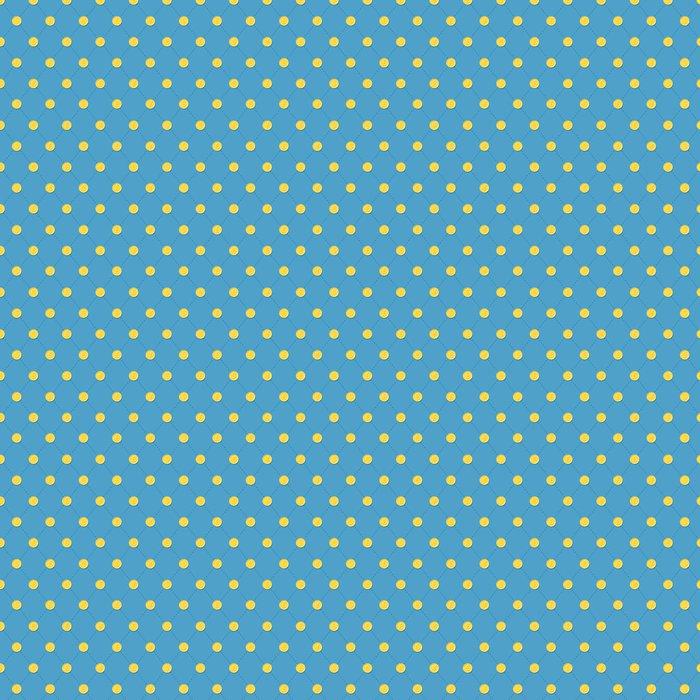 Vinylová Tapeta Vzor zlatých mincí na modrém zádech. Různých měnách. - Finance