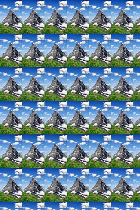 Vinylová Tapeta Výhled na Matterhorn - Švýcarské Alpy - Evropa