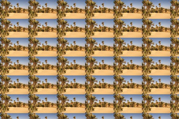 Vinylová Tapeta Premières duny du Sahara - Afrika