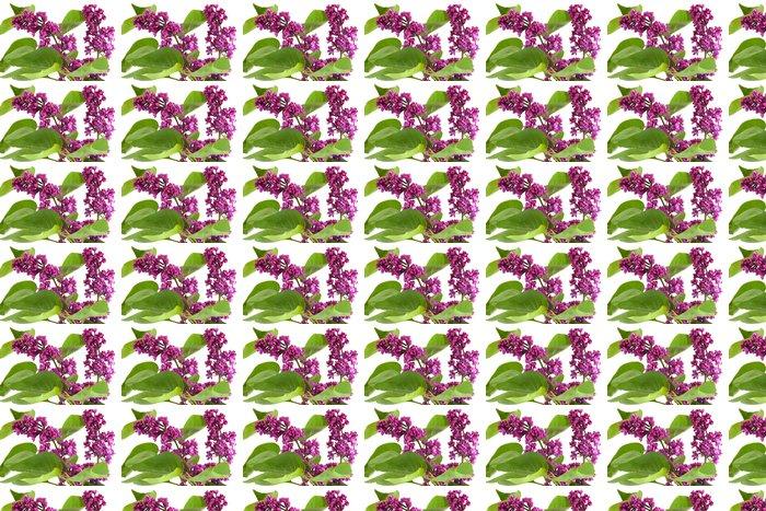 Vinylová Tapeta Lila květy - Květiny
