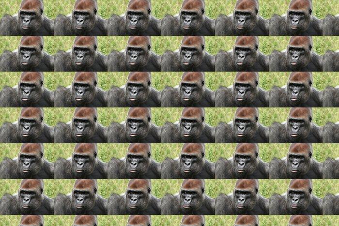 Vinylová Tapeta Gorille des Plaines - Savci