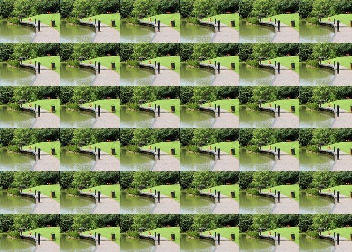 Vinylová Tapeta Singapore botanická zahrada - Voda