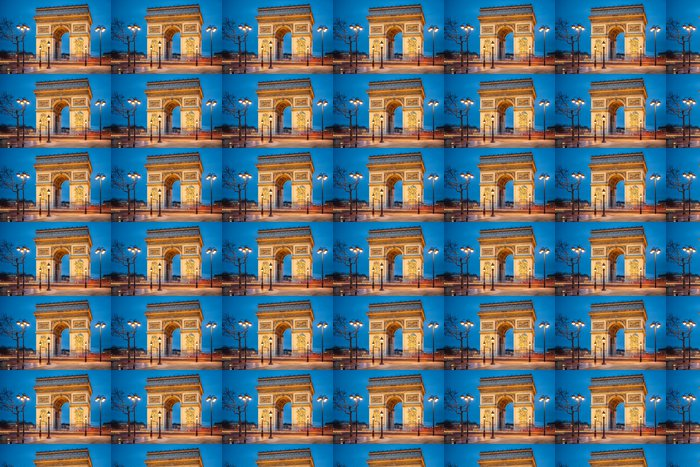 Vinylová Tapeta Arc de Triоmphе v Paříži - Evropská města