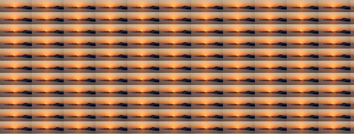 Vinylová Tapeta Západ slunce v Fethiye - Hory