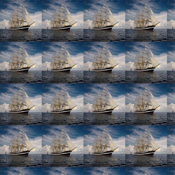 Vinylová Tapeta Yachting. Sbírka lodě a jachty - Témata