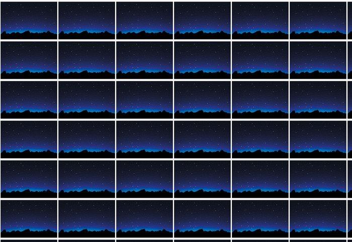 Vinylová Tapeta Space krajina - Nebe