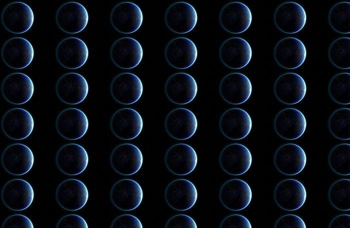 Vinylová Tapeta 3D Planeta Země. Prvky tohoto obrázku zařízený NASA. Další - Meziplanetární prostor