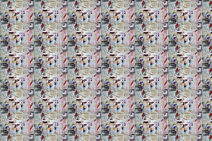 Vinylová Tapeta Roztrhané plakáty - Pozadí