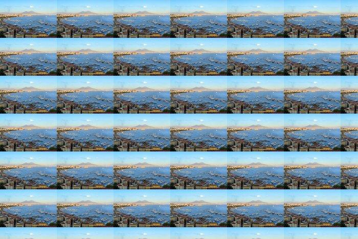 Vinylová Tapeta Pohled na Neapolský záliv - Evropa