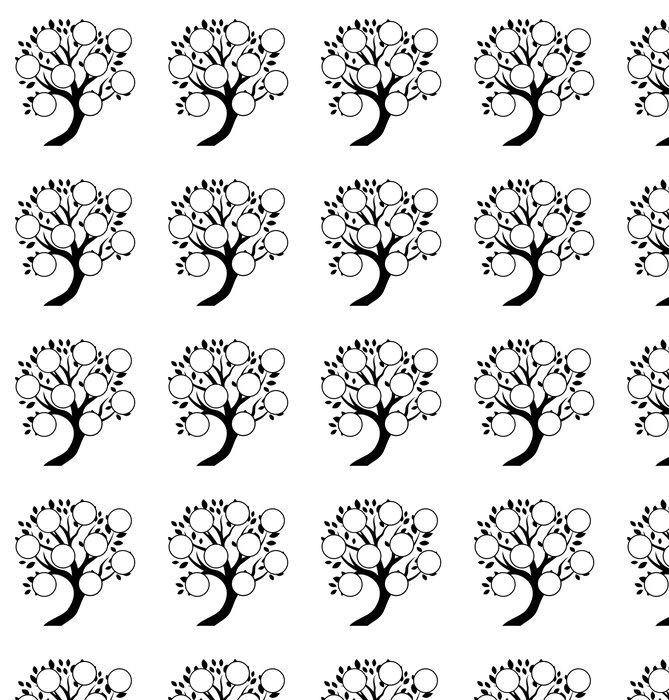Vinylová Tapeta Dekorativní rodinný strom designu, vložte své fotografie, znaky - Značky a symboly