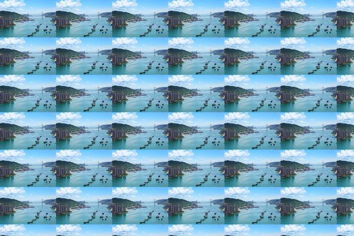 Vinylová Tapeta Hong Kong Skyline - Asijská města