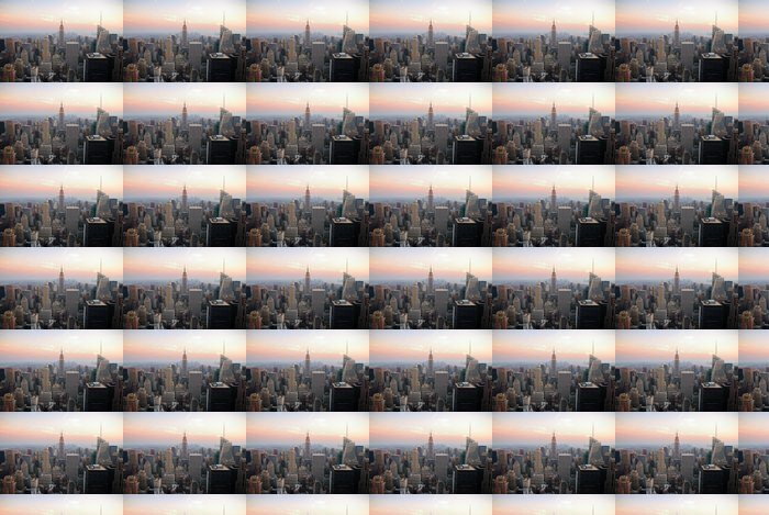 Vinylová Tapeta New York City Manhattan Skyline - Amerika