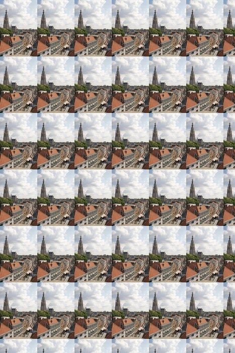 Vinylová Tapeta Nákupní ulice ve městě Breda, Holandsko, při pohledu shora - Evropa