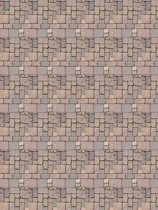 Vinylová Tapeta Pavimentazione v autobloccanti - Struktury