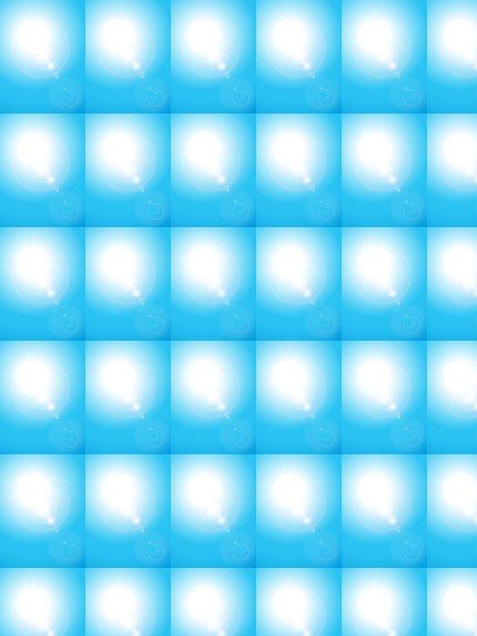 Vinylová Tapeta Summery blue sky - Pozadí