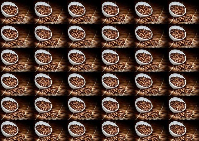 Vinylová Tapeta Káva pozadí - Horké nápoje