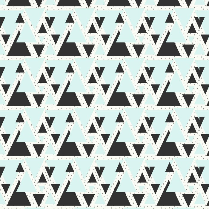 Abstract Geometric Pattern Vinyl Wallpaper - Graphic Resources