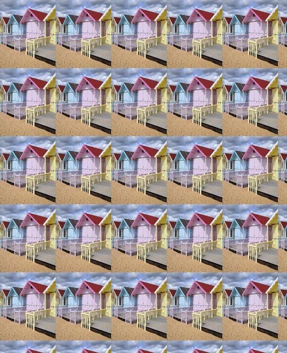 Vinylová Tapeta Beach chaty - Prázdniny