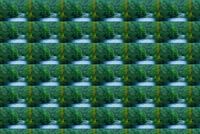 Vinylová Tapeta Řeka a zelené lesy - Témata